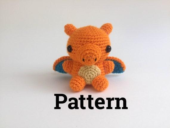Crochet Charizard Pattern