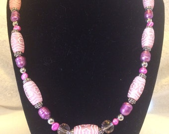 Necklace freshwater pearls