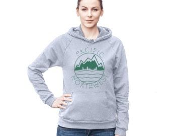 Pacific Northwest West Coast Women's Hoodie Sweatshirt