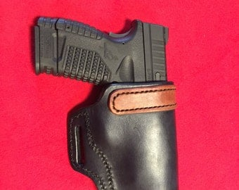 Springfield XDS OWB Leather Holster