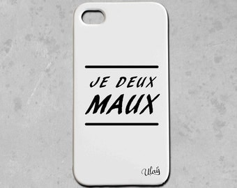 Iphone case I two EVILS