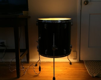 "The ""Bonzo"" - Real Drum Floor Lamp"