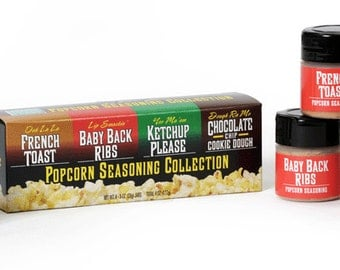 Wabash Valley Farms 77307 On the Edge Popcorn Seasoning Collection