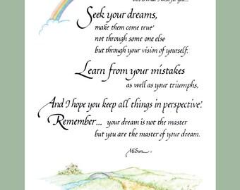 Seek Your Dreams