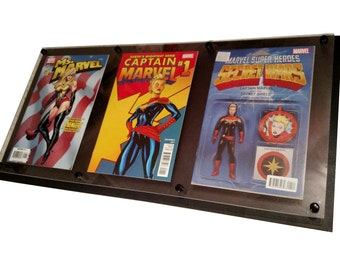 3 wide Comic Display