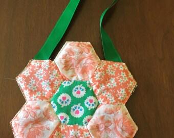 Little girl's hexagon purse