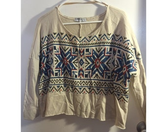 Urban Outfitters Aztec Top