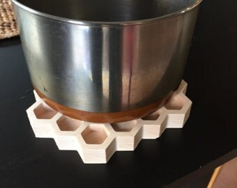 Trivet - Honeycomb Pattern out of Hard Maple
