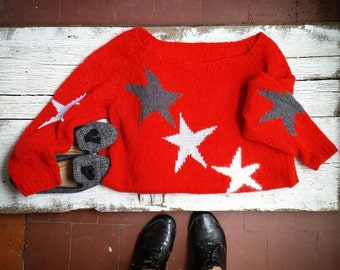 Jersey starred Свитер Звездный buy jersey woman; handmade, ordered women jersey