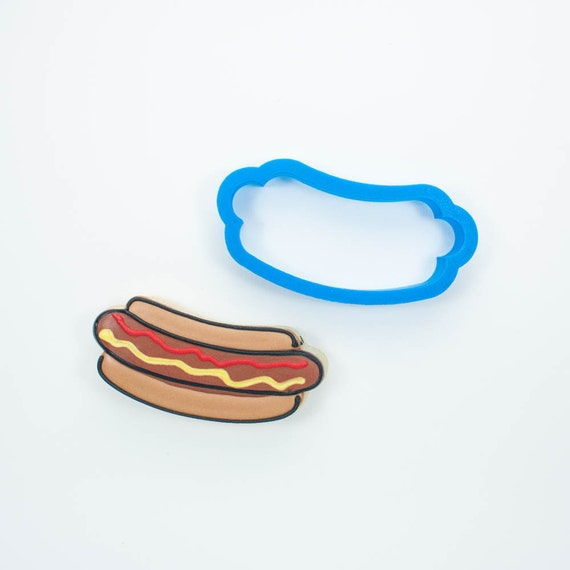 Etsy Hot Dog Cookie Cutter