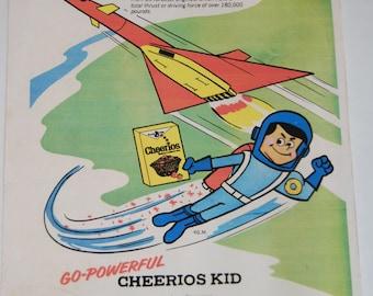 Cheerios Ad XB-70 Valkyrie 1950s