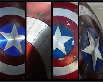 24'' Captain America Shield (Battle Damaged)