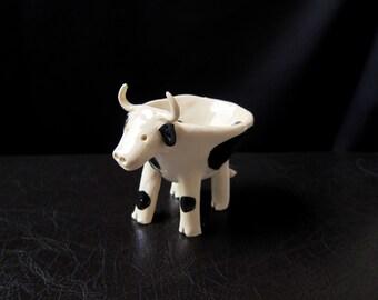 Ceramic Cow Pot
