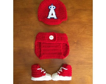 Crochet angels set