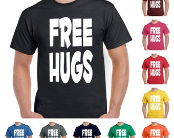 Free Hugs Men's Funny T-Shirt