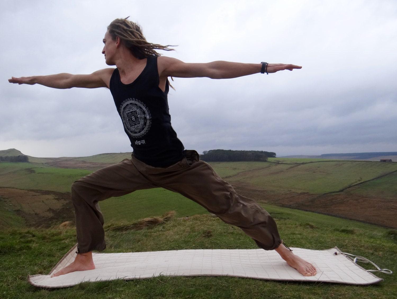 Wild Hemp Yoga Mat Handmade Eco Friendly 100 By Khalikhutta