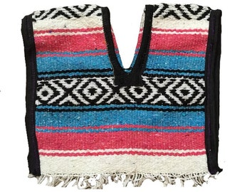 Handmade Mexican Baby Poncho