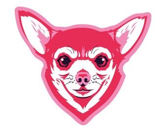Chihuahua Die Cut Sticker GD109