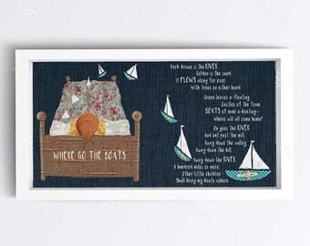 Children's Textile Wall Art *Digital Download*