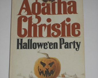 Hallowe'en Party by Agatha Christie halloween mystery paperback classic