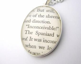 """The Princess Bride """"Inconceivable"""" Necklace"""