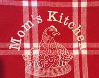 Mom's Kitchen Towel (Accent towels available)