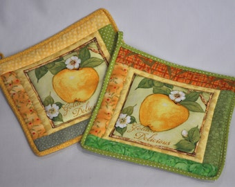 Golden Delicious Potholder