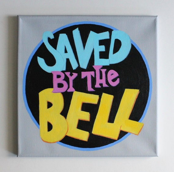 items similar to saved by the bell tv show tv art 80s