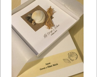 Beach theme wedding invitations Etsy IE