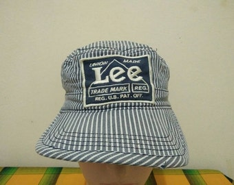 Rare Vintage Workman LEE UNION MADE Cap Hat Free size fit all
