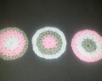 Adorable Face Scrubbies Size: small