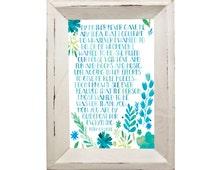 "Gilmore Girls Inspired ""Rory's Speech"" (8 X 10 Watercolor Print)"