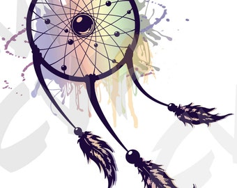 Vector DREAMCATCHER, Download files, Digital, graphical, ai, eps, png, pdf, svg, jpg, discount coupons