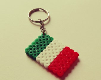 Flags Keychains Italy Germany France