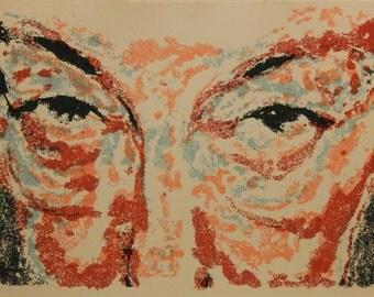 Portrait Silkscreen Print