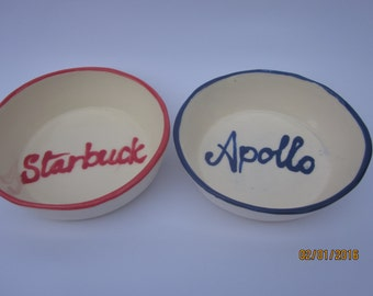 pet bowls personalised and made to order