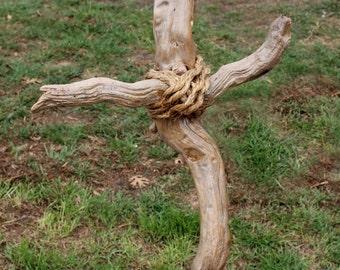 Driftwood cross 20 inch tall