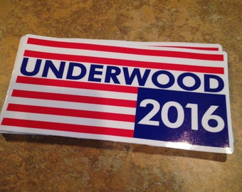 House of Cards Campaign sticker