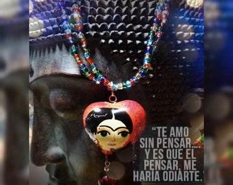 Friday Kahlo,Friday Kahlo necklace
