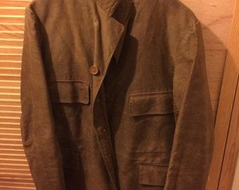 Rare Antique Heavy Cotton Jacket C. 1910