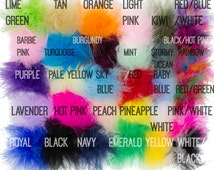 Marabou Feather Puffs, Marabou Puffs, Feather Puffs, Marabou Feathers, Curly Feathers, Feather BOA , Wholesale feather puffs, Choose Colors
