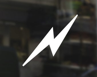 Harry Potter Lightning Bolt Scar - Vinyl Sticker / Decal