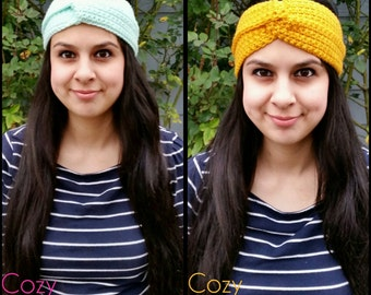 Turban Crochet Headbands