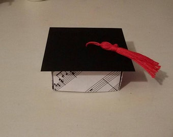 Origami boxes for graduation degree/graduation/origami favor box wedding favor boxes