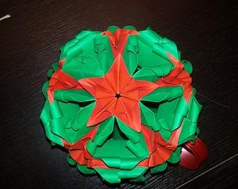 kusudama ball/ball Christmas Christmas/centerpiece