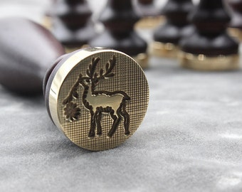 sealing wax stamp-deer