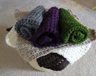 Baby mini blanket, Chunky mini blanket, Chunky mat, Baby mat, Newborn blanket, Newborn mat, Photo props, Baby photo props