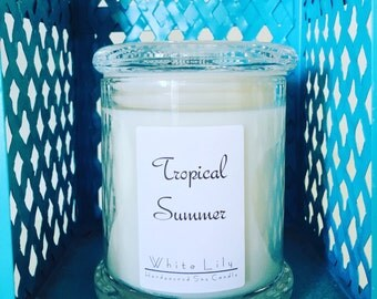 Tropical Summer Soy Candle