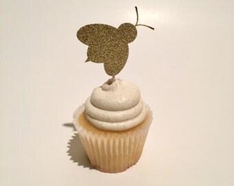 Bee Cupcake Topper