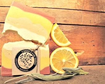 Moisturizer-Sage & lemon bar SOAP